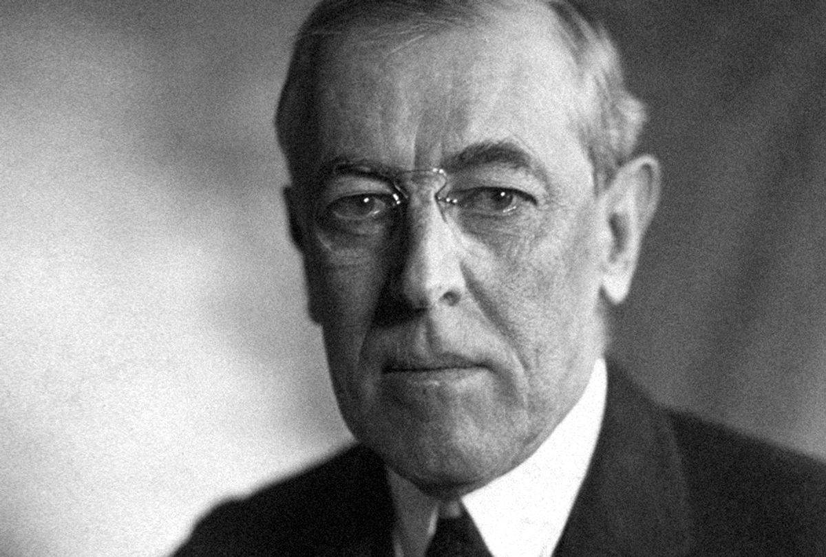 Woodrow Wilson (WikiMedia)