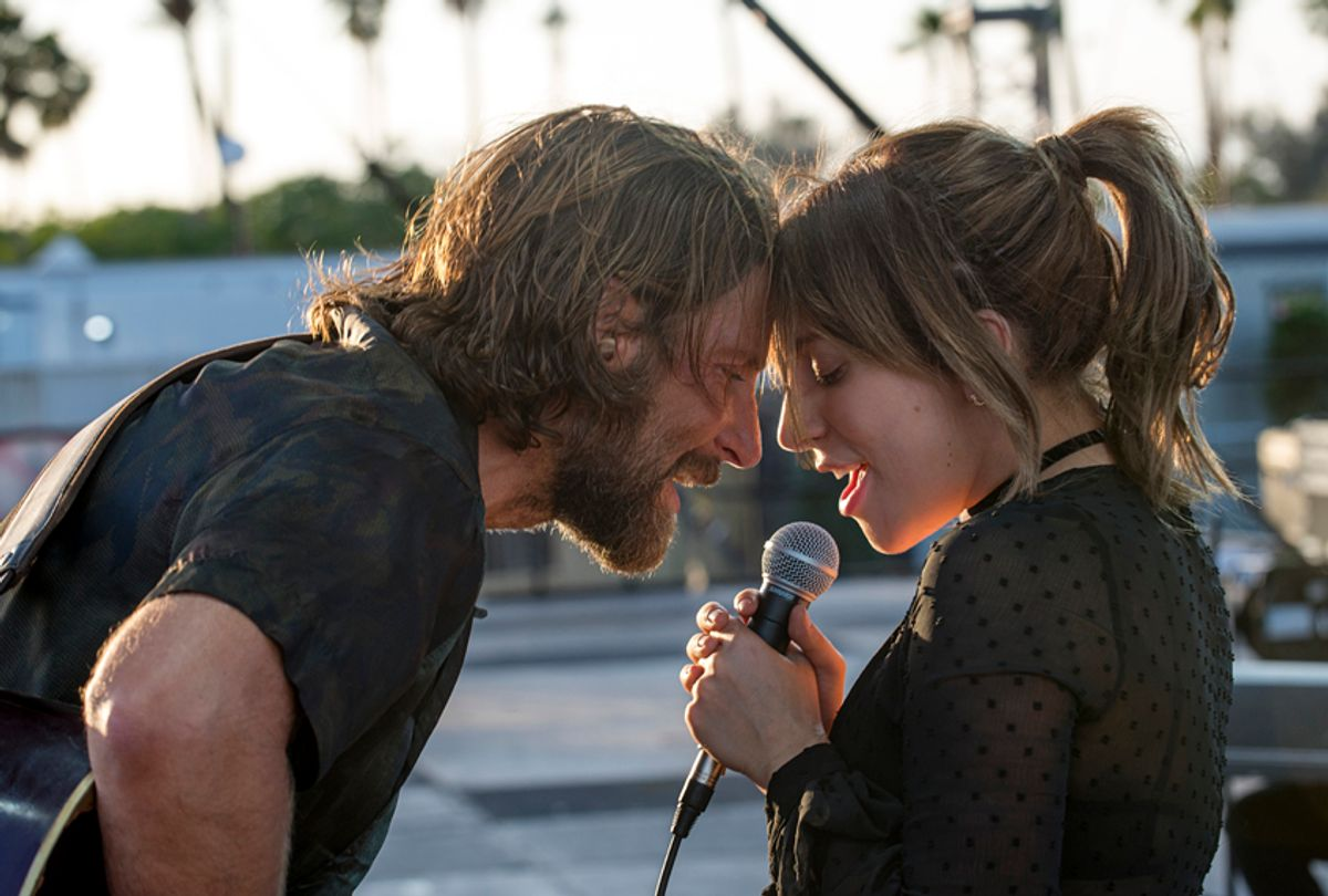 """Bradley Cooper as Jack and Lady Gaga as Ally in """"A Star Is Born"""" (Warner Bros. Pictures)"""