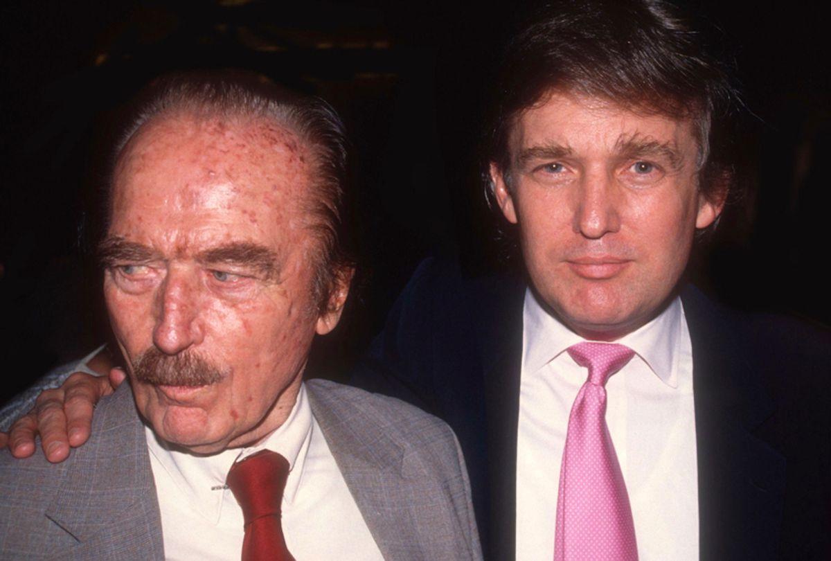 Fred Trump; Donald Trump (AP/Adam Scull)