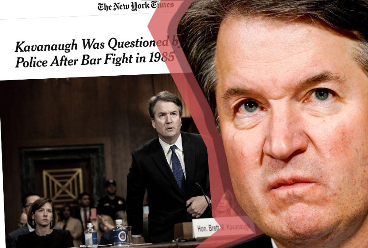 Brett Kavanaugh (AP/New York Times/Salon)