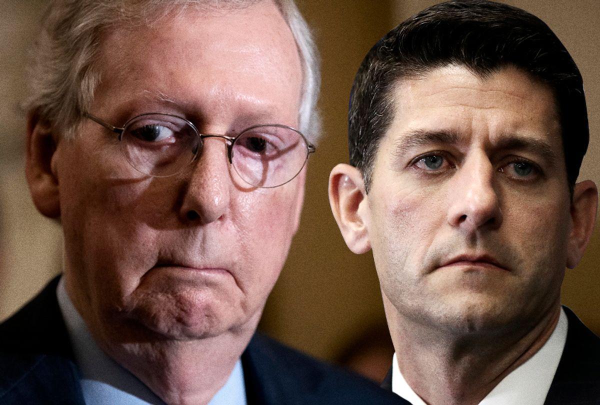 Mitch McConnell; Paul Ryan (AP/Salon)