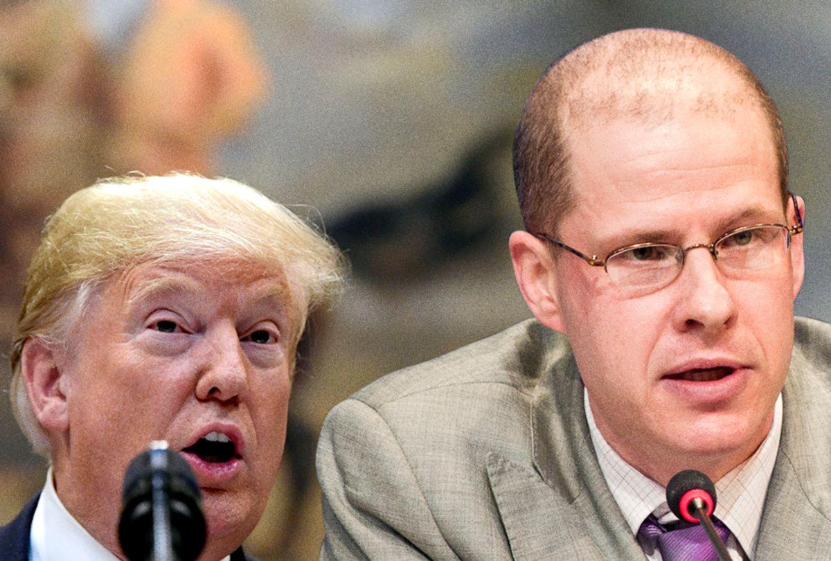 Donald Trump; Max Boot (AP/Wikimedia/Salon)