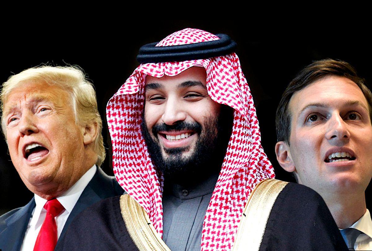 Donald Trump; Mohammad Bin Salman; Jared Kushner (AP/Salon)