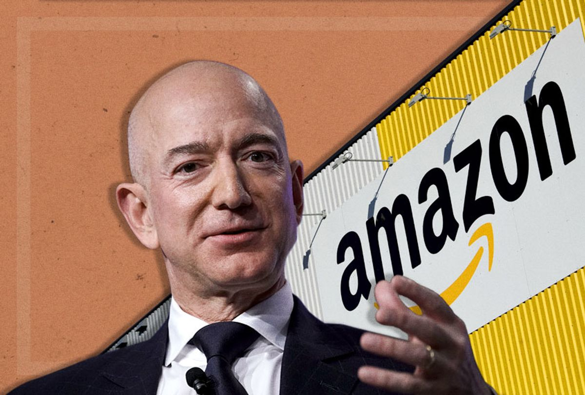 Jeff Bezos (Getty/Photo Montage by Salon)