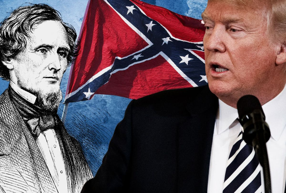 Jefferson Davis; Donald Trump (AP/Getty/Salon)