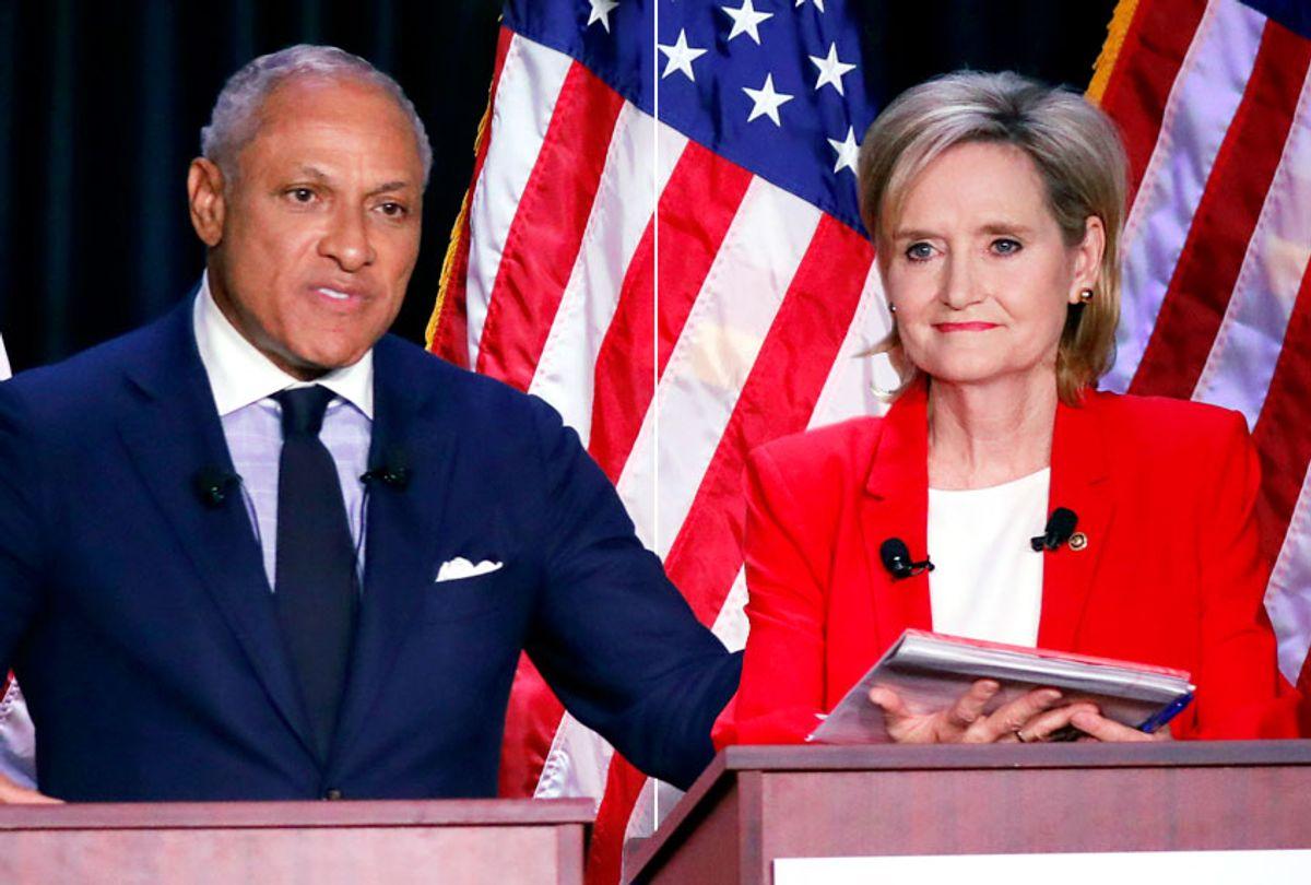 Mike Espy; Cindy Hyde-Smith (AP/Rogelio V. Solis)