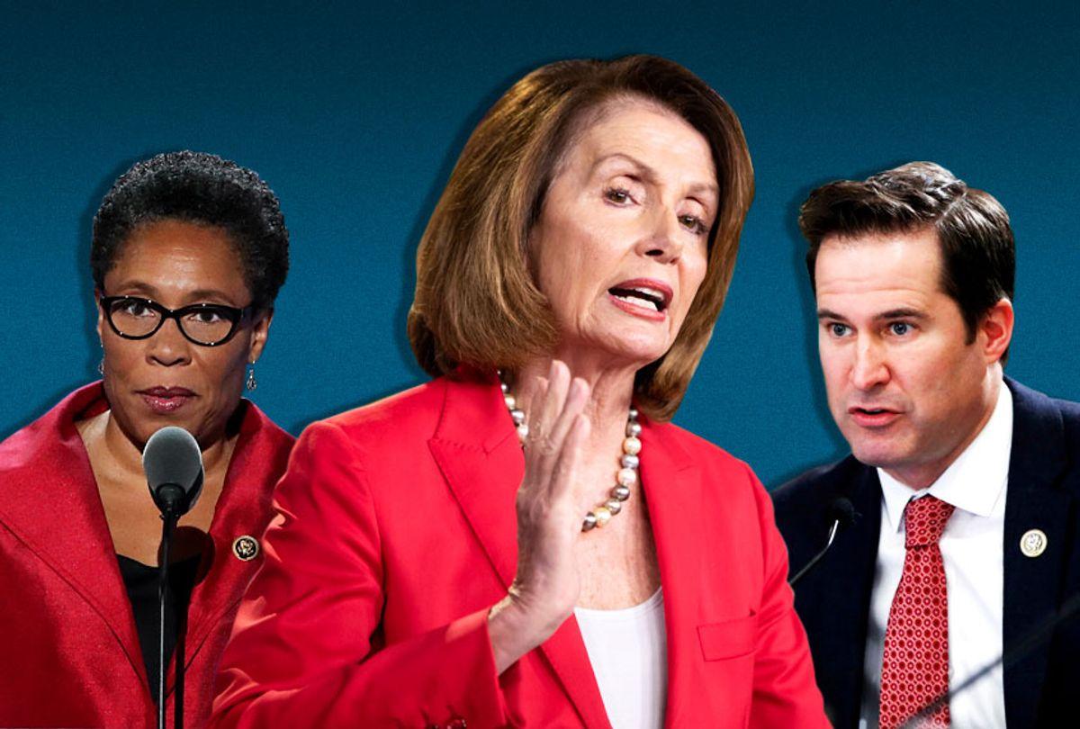 Marcia Fudge; Nancy Pelosi; Seth Moulton (AP/Getty/Salon)