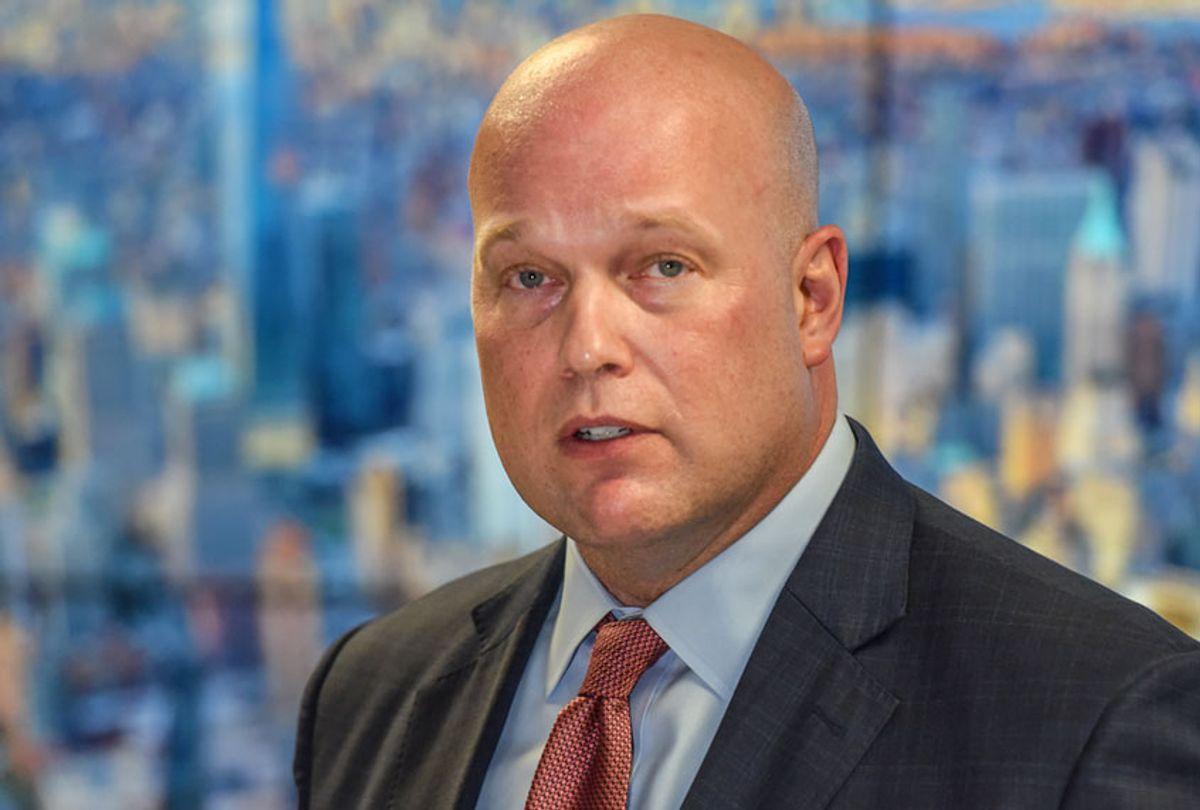 Acting Attorney General Matthew Whitaker (Getty/Stephanie Keith)