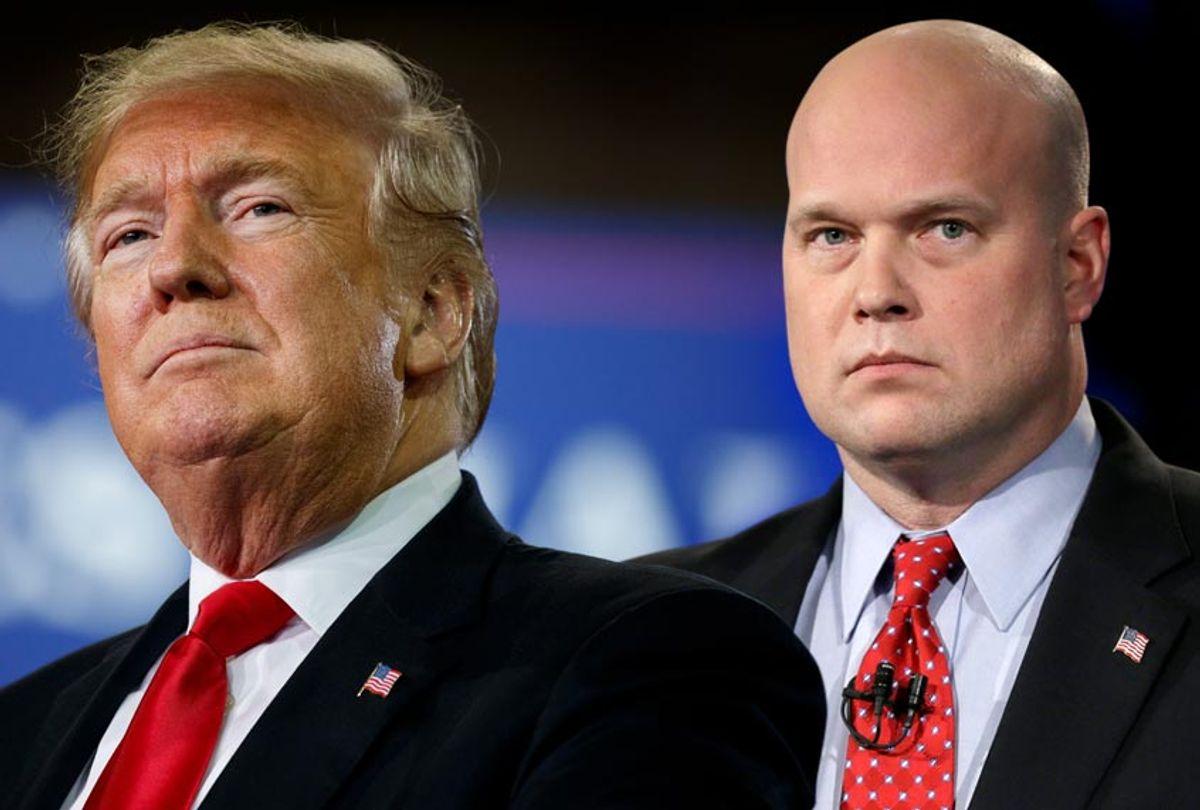 Donald Trump; Matthew Whitaker (AP/Salon)