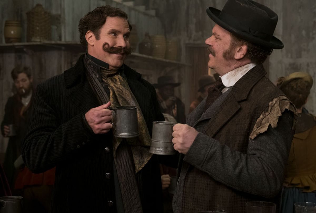 """Will Ferrell and John C. Reilly in """"Holmes & Watson"""" (Giles Keyte)"""