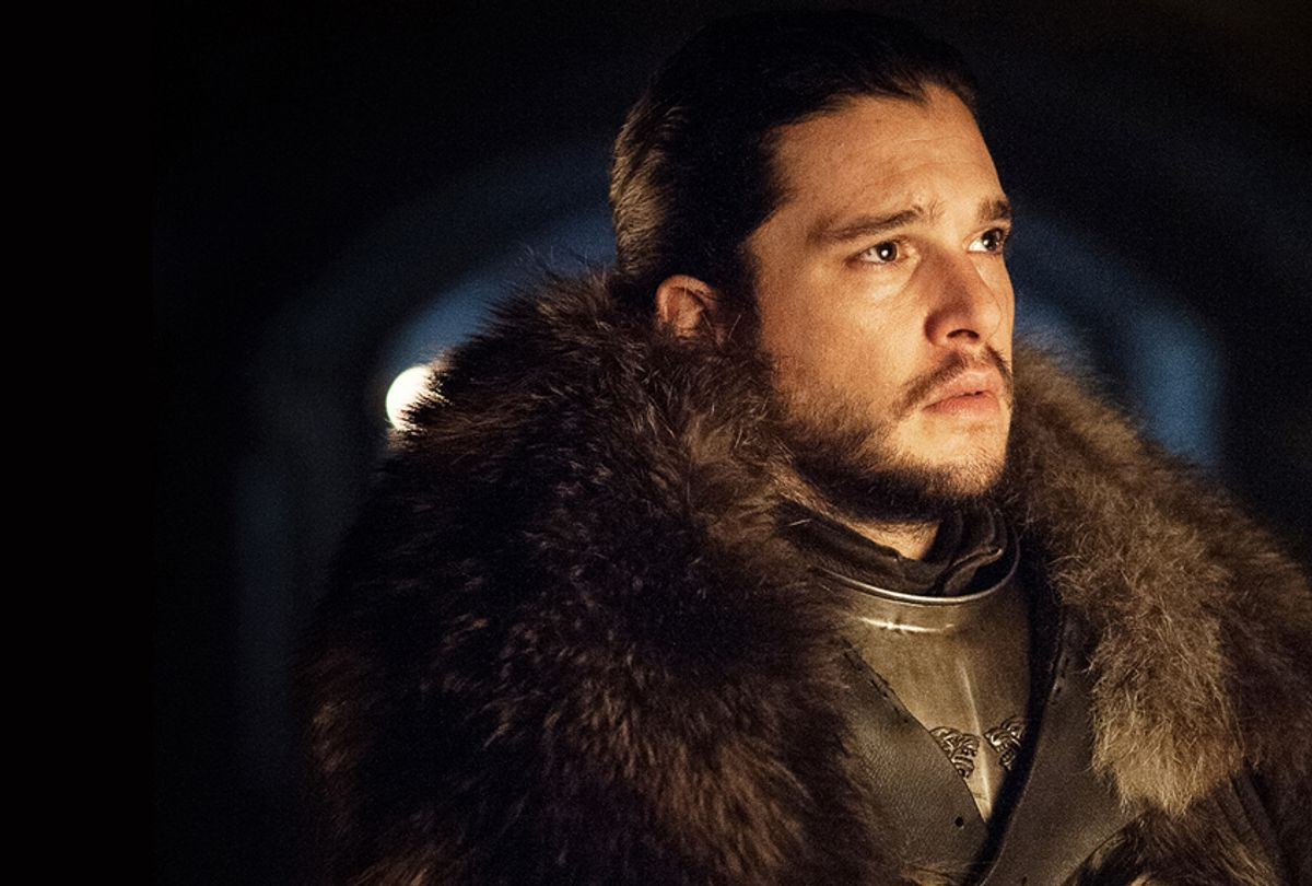 "Kit Harington as Jon Snow in ""Game of Thrones"" (Helen Sloan/courtesy of HBO)"