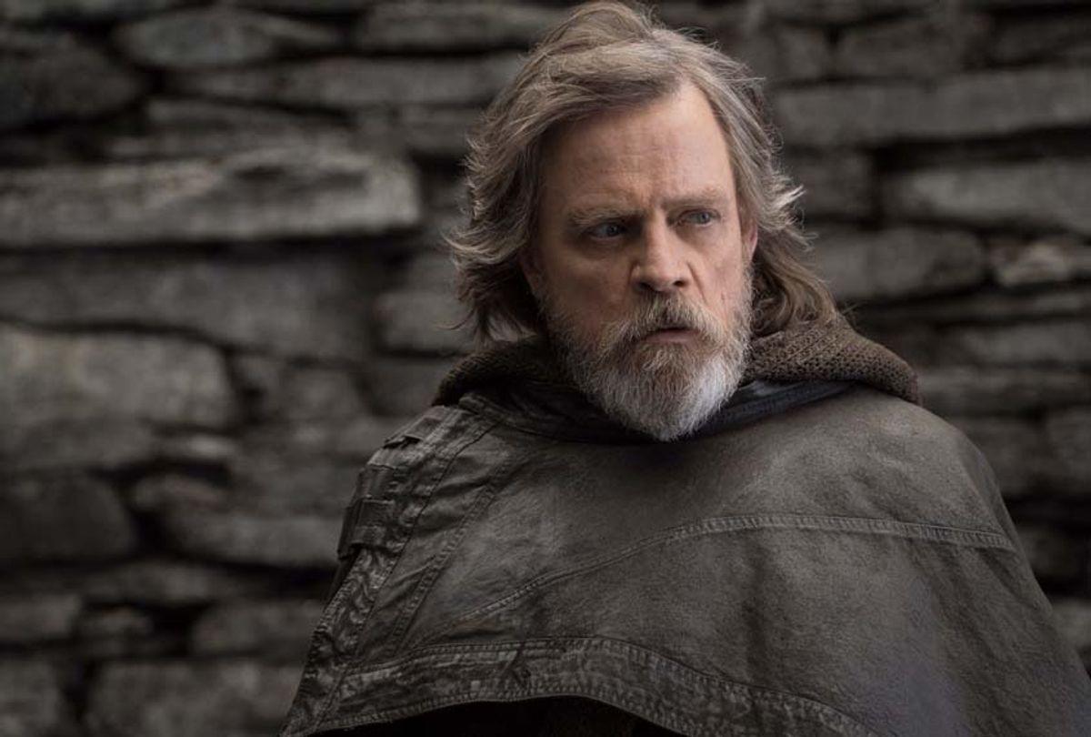 """Mark Hamill as Luke Skywalker in """"Star Wars: The Last Jedi"""" (Lucasfilm Ltd.)"""
