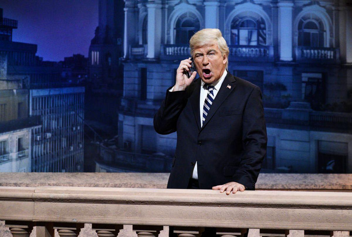"Alec Baldwin as Donald Trump on ""Saturday Night Live"" (Will Heath/NBC)"