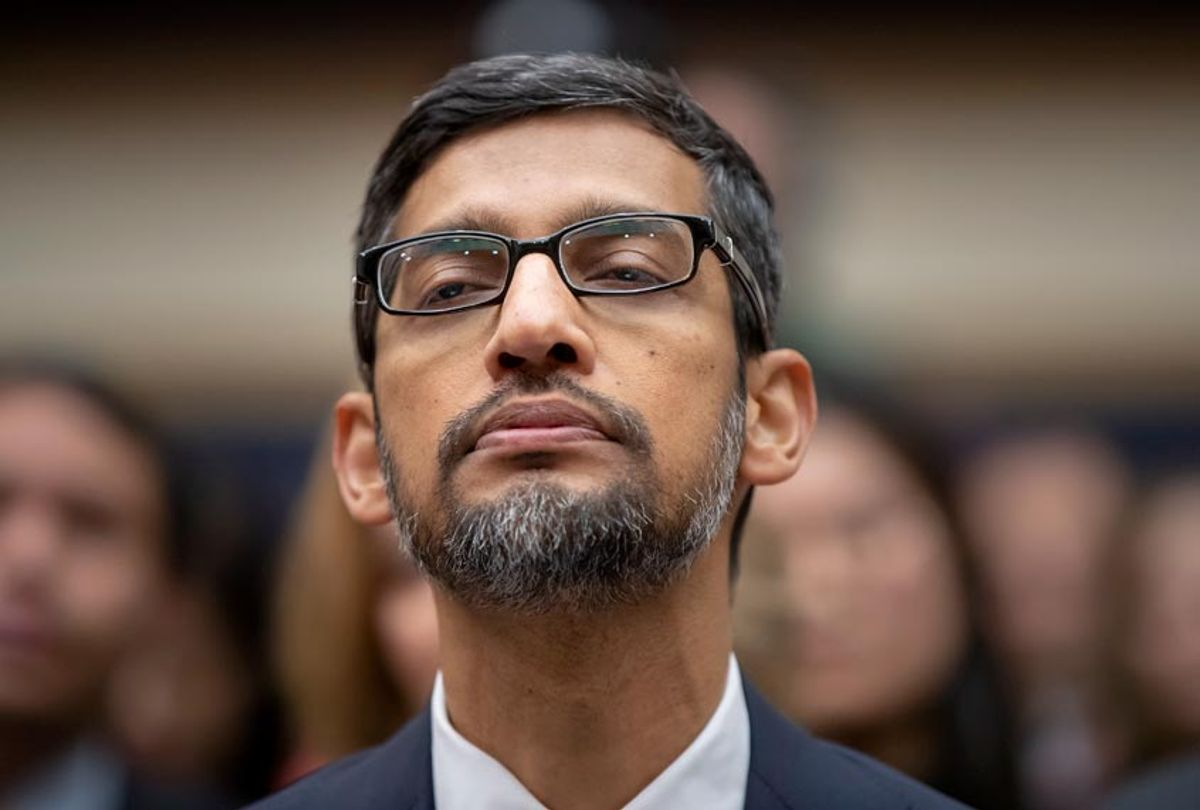 Google CEO Sundar Pichai appears before the House Judiciary Committee to be questioned about the internet giant's privacy security and data collection, on Capitol Hill in Washington, Tuesday, Dec. 11, 2018 (AP/J. Scott Applewhite)
