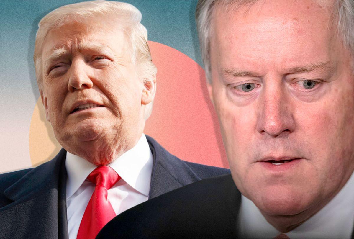 Donald Trump; Mark Meadows (AP/Getty/Salon)