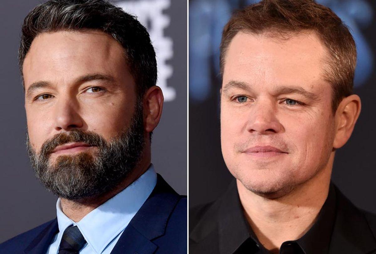 Ben Affleck; Matt Damon (AP/Chris Pizzello/Getty/Alberto E. Rodriguez)
