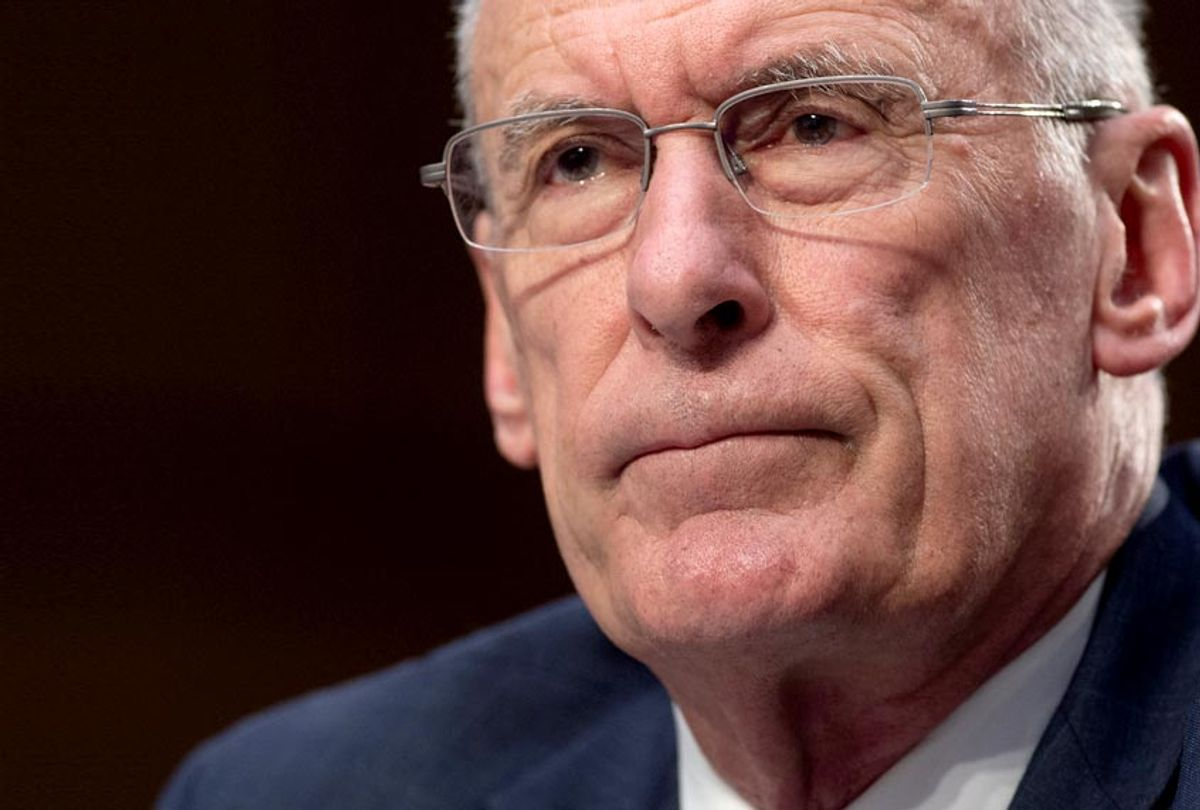 Daniel Coats, director of National Intelligence, testifies on Worldwide Threats during a Senate Select Committee on Intelligence hearing on Capitol Hill in Washington, DC, January 29, 2019. (Getty/Saul Loeb)