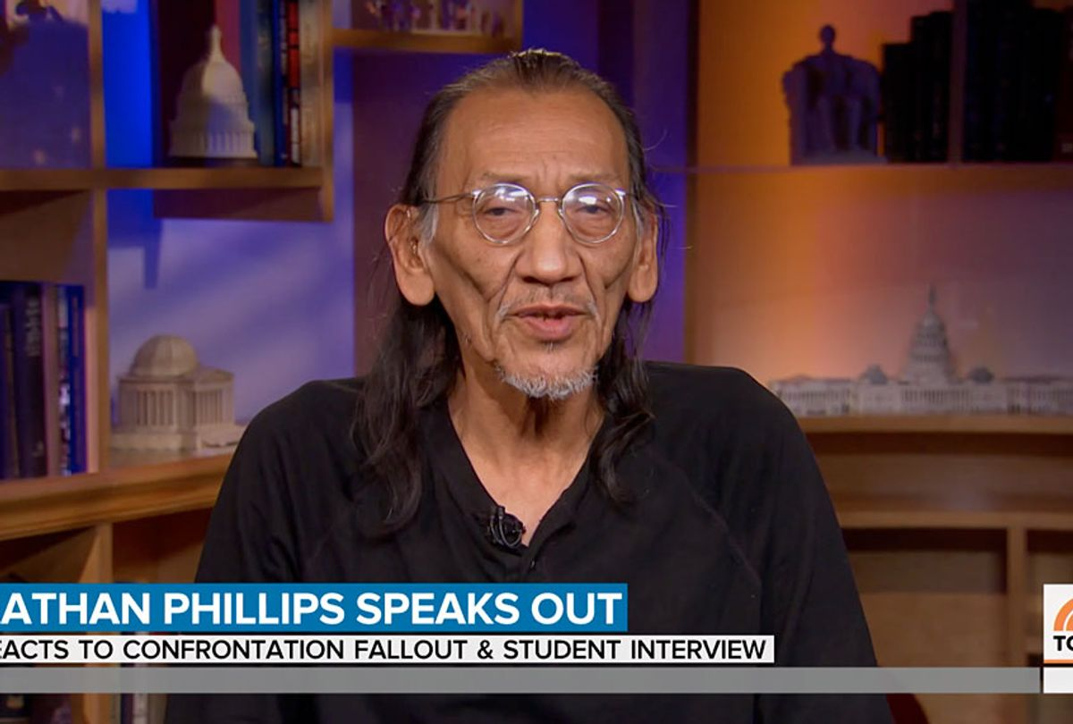 Nathan Phillips (Today)