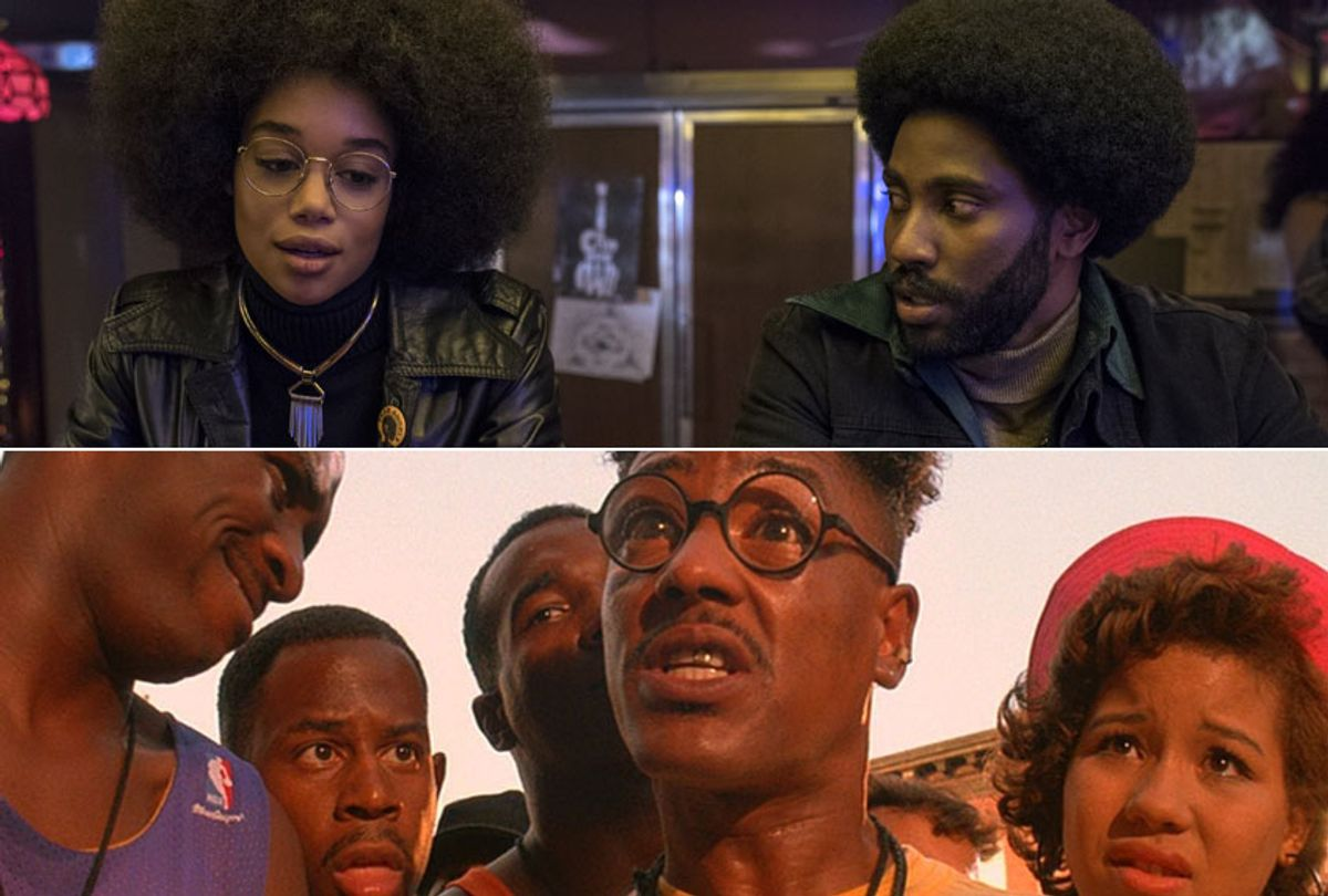 """""""BlacKkKlansman;"""" """"Do the Right Thing"""" (Focus Features/Universal Pictures)"""