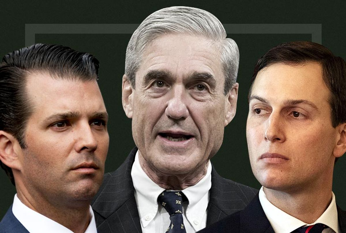 Donald Trump Jr. Robert Mueller; Jared Kushner (AP/Getty/Salon)