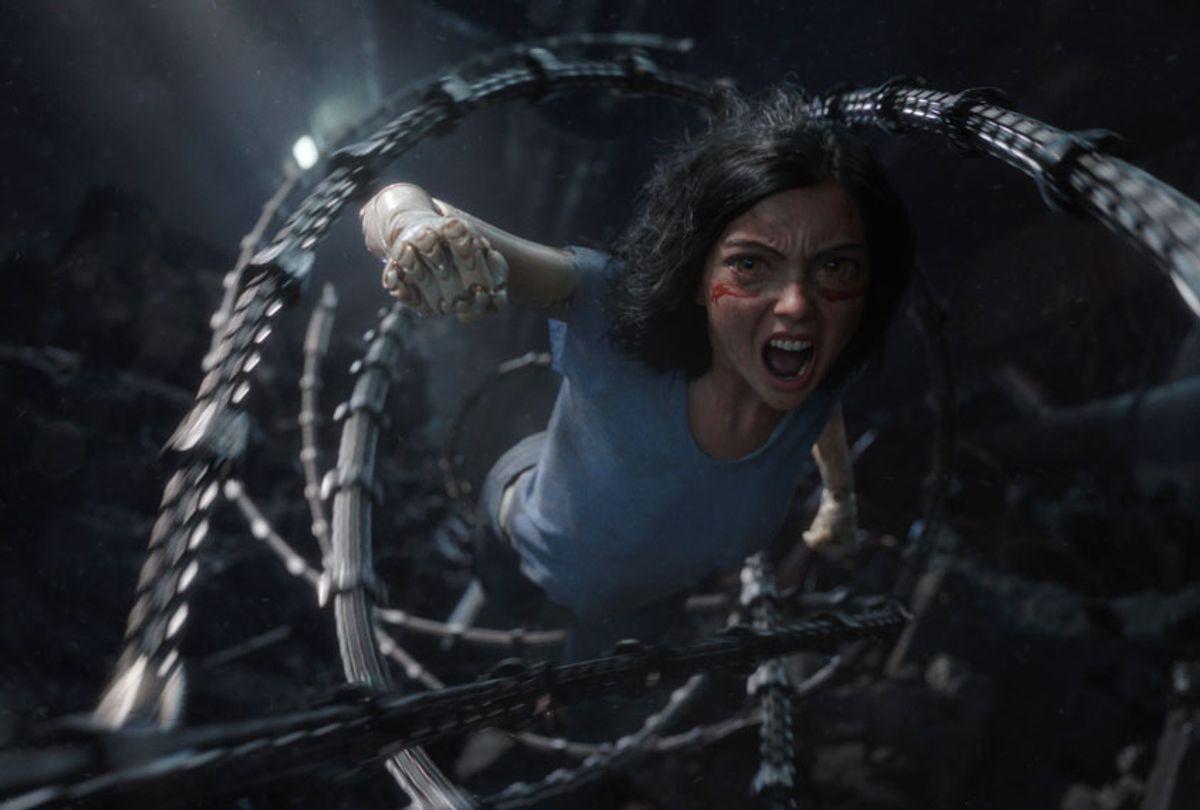 "Rosa Salazar as Alita in ""Alita: Battle Angel"" (Courtesy Twentieth Century Fox)"