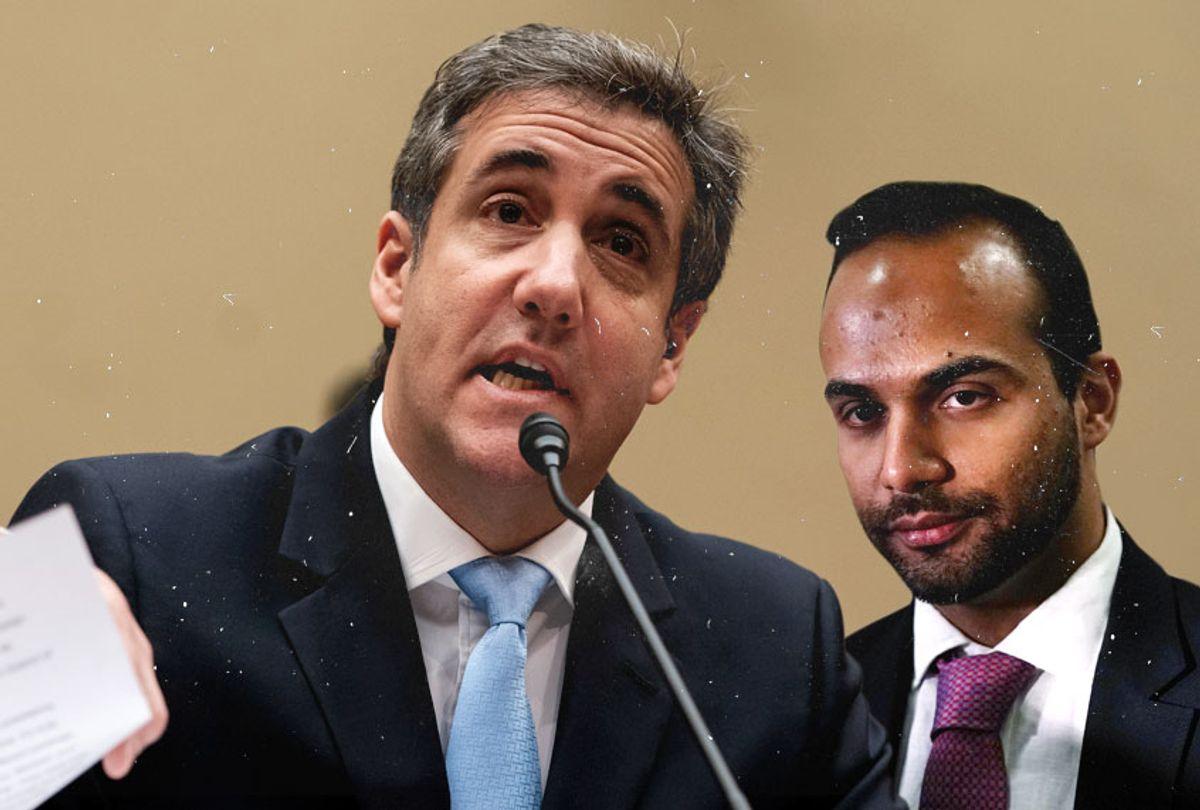 Michael Cohen; George Papadopoulos (AP/Getty/Salon)