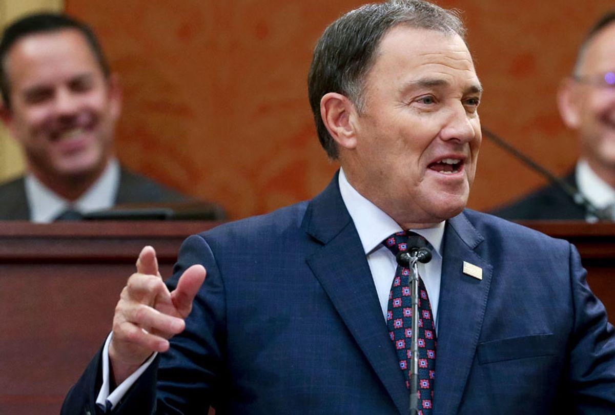 Utah Gov. Gary Herbert (Spenser Heaps/The Deseret News via AP)