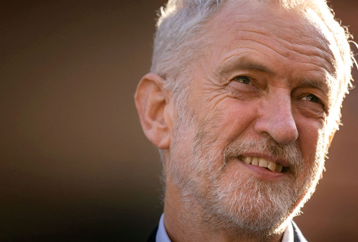 Labour Party leader, Jeremy Corbyn (Getty/Christopher Furlong)