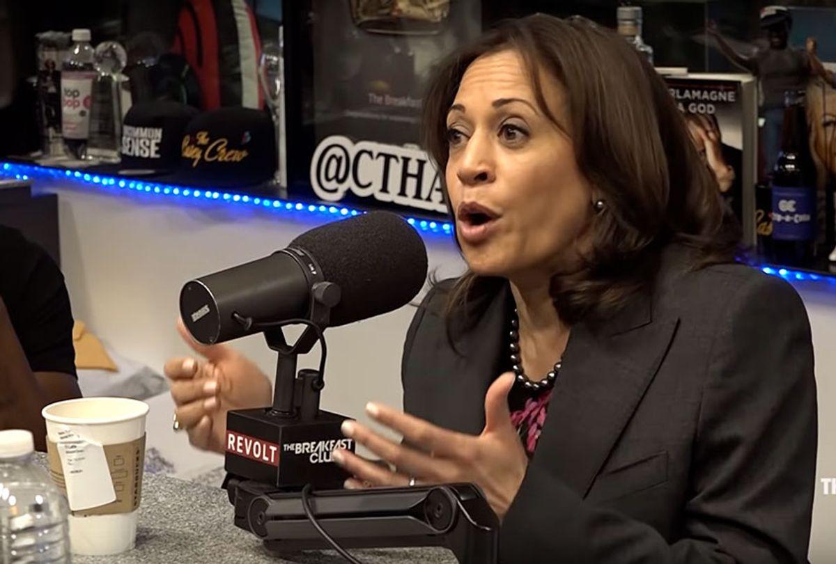 "Kamala Harris on ""The Breakfast Club"" (YouTube/Breakfast Club Power 105.1 FM)"