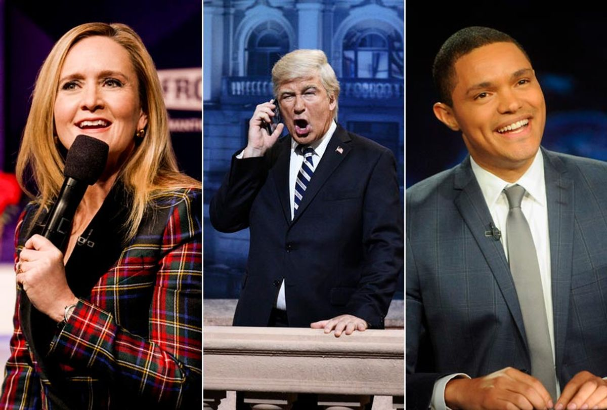 """""""Full Frontal With Samantha Bee;""""Saturday Night Live;"""" """"The Daily Show"""" (Michele K. Short/Will Heath/NBC/Brad Barket)"""