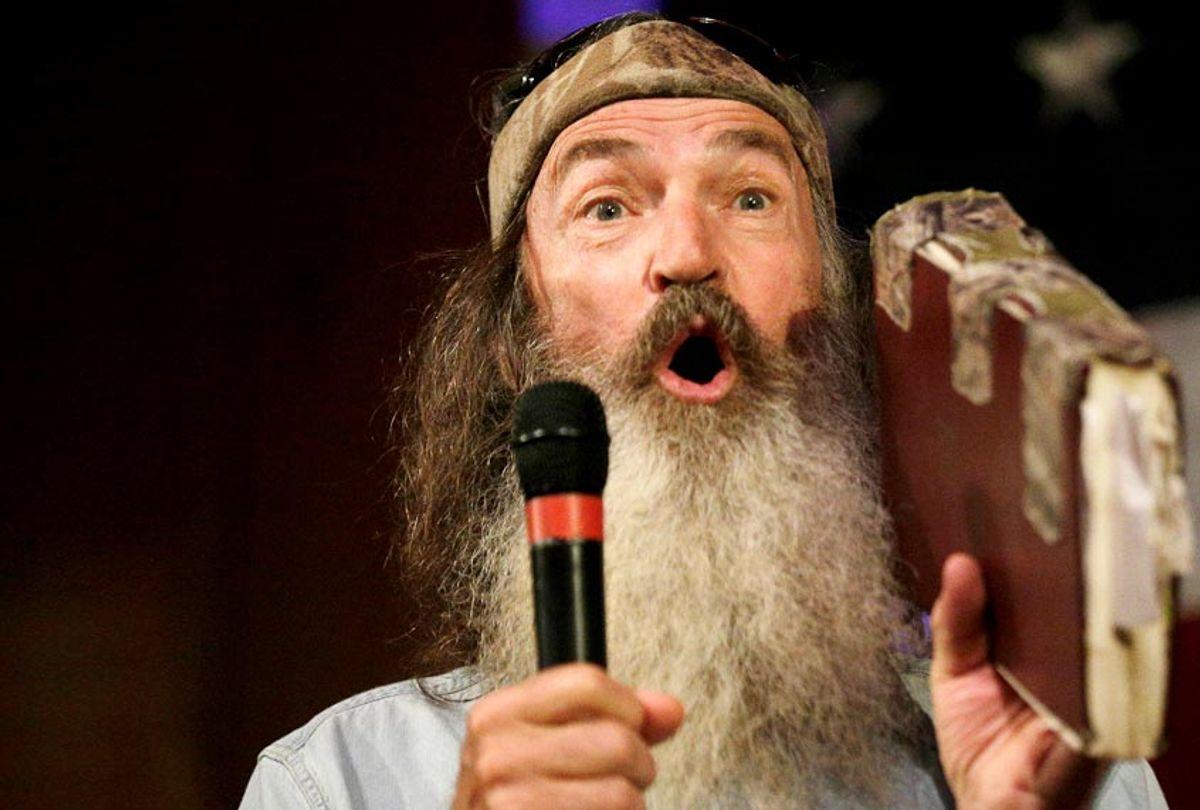 """Phil Robertson of """"Duck Dynasty"""" (AP/Brynn Anderson)"""