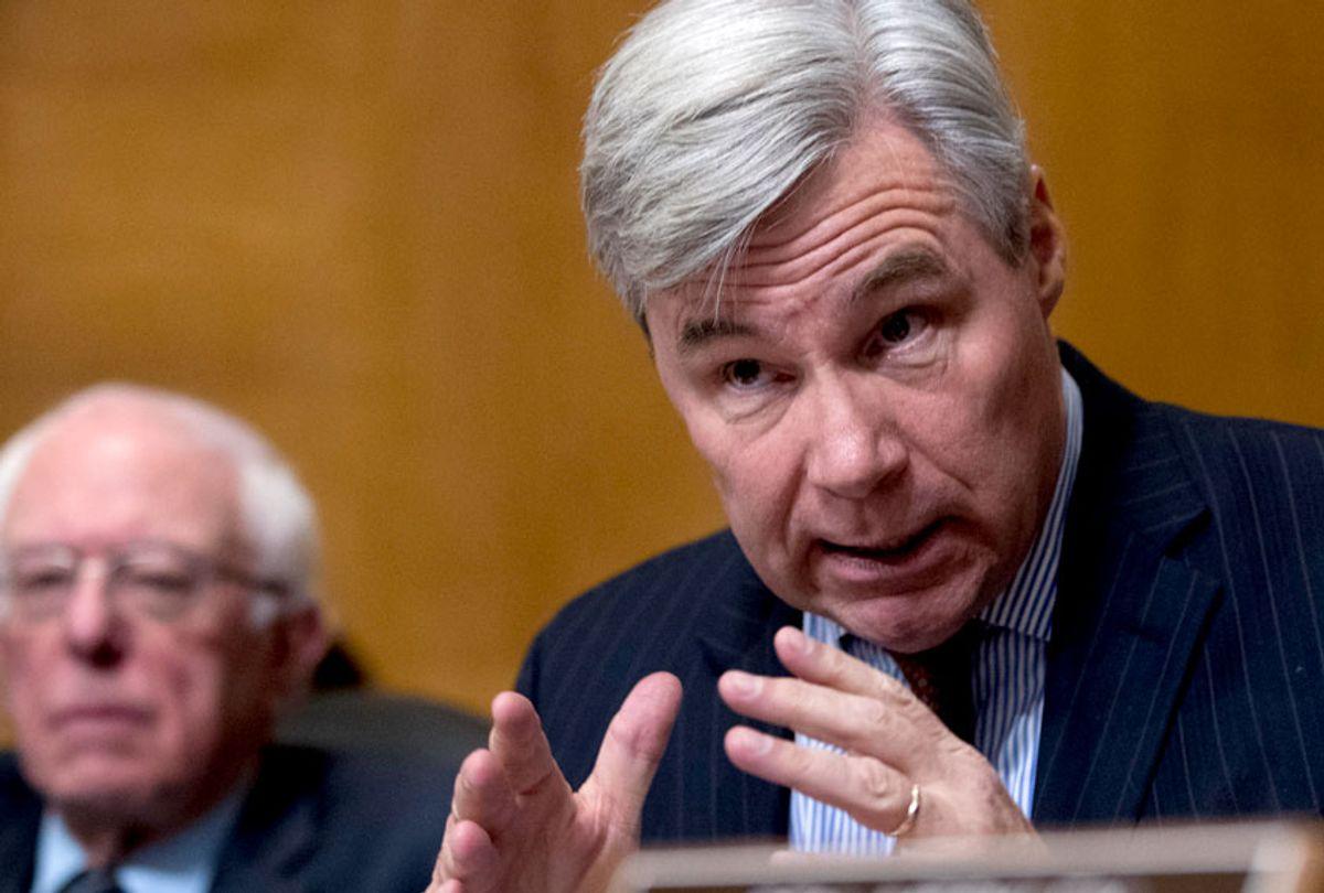 Sen. Sheldon Whitehouse, D-R.I. (AP/Andrew Harnik)