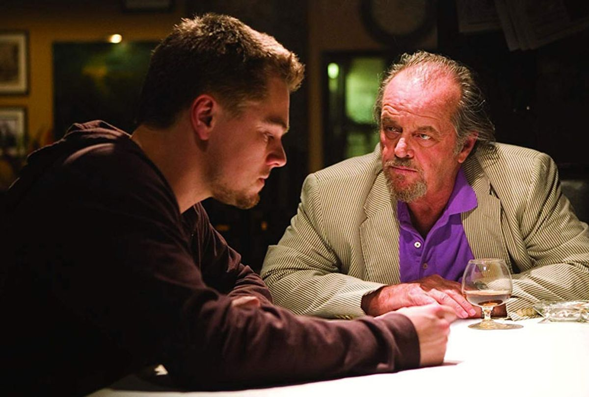 "Leonardo DiCaprio and Jack Nicholson in ""The Departed"" (Warner Bros.)"