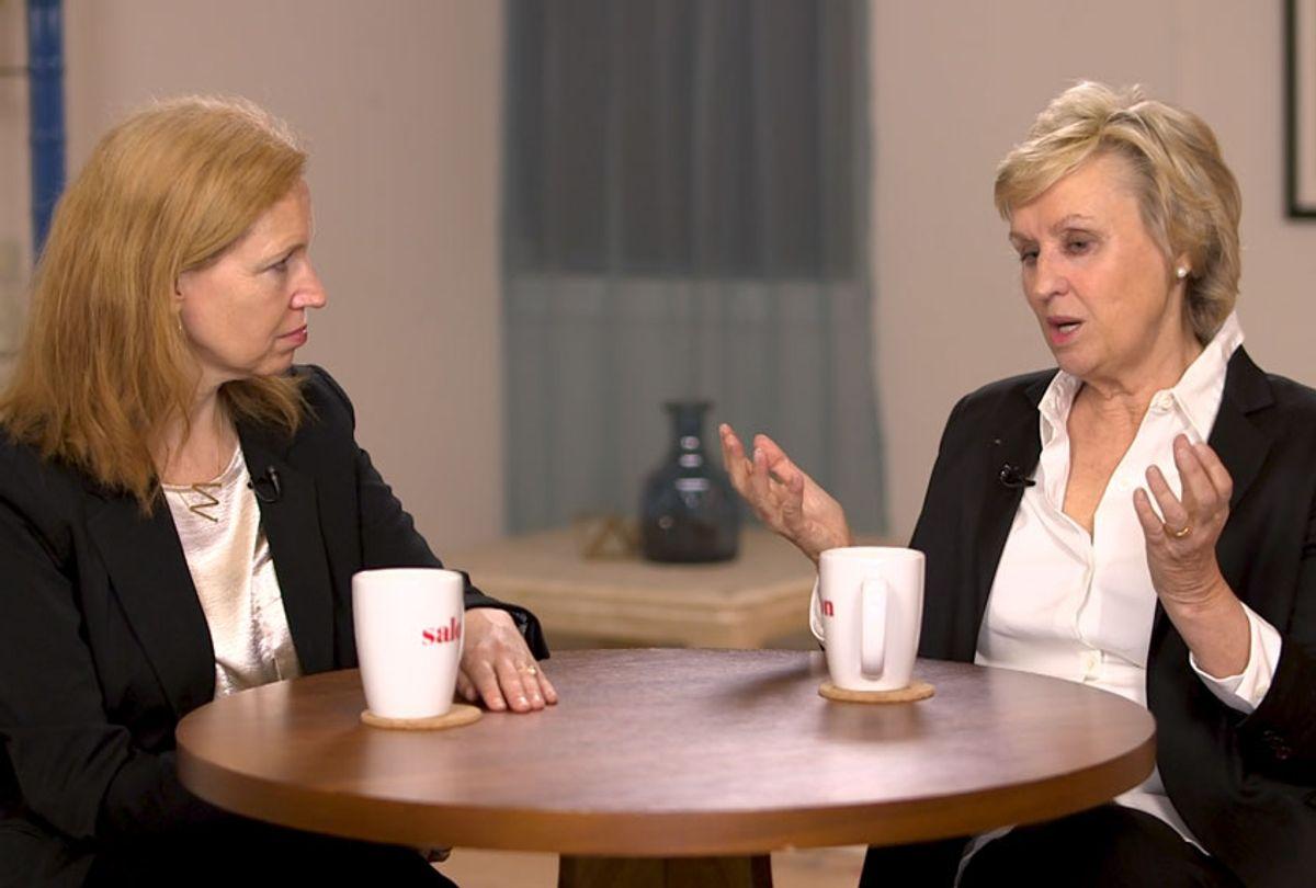 Mary Elizabeth Williams and Tina Brown (Salon Talks)