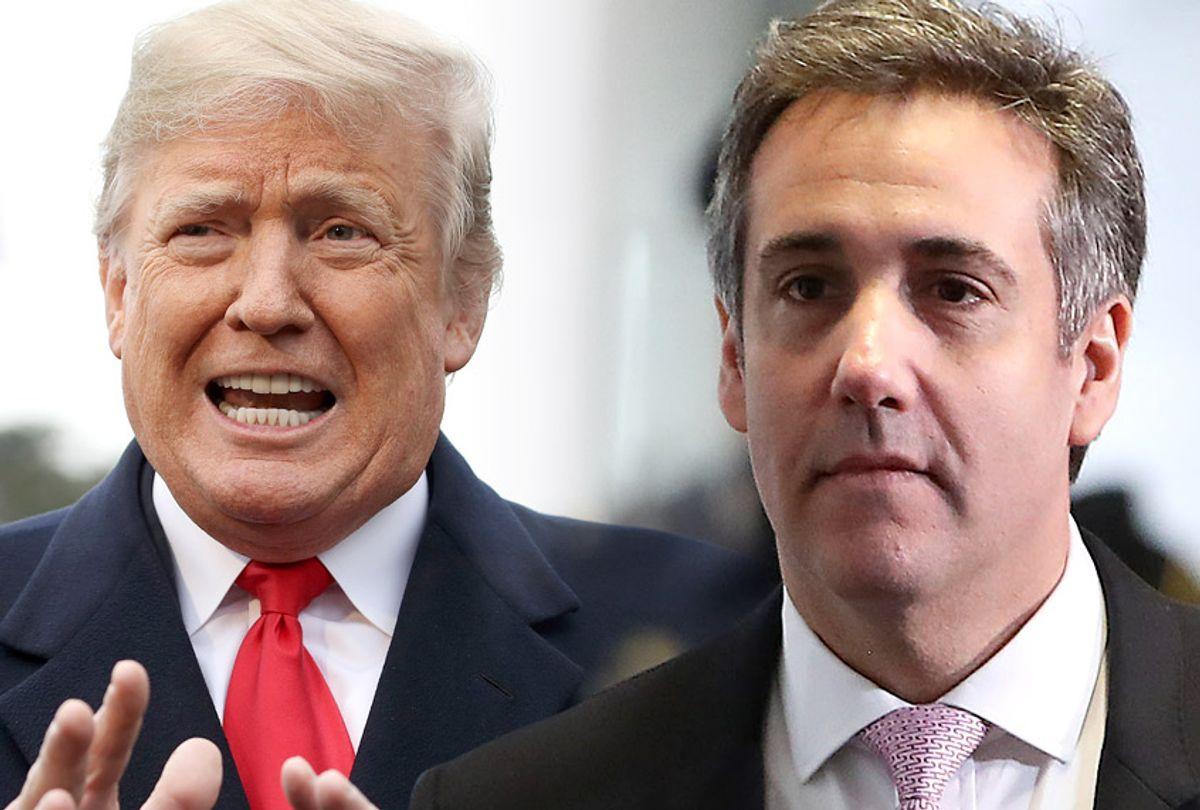 Donald Trump; Michael Cohen (Getty/Salon)