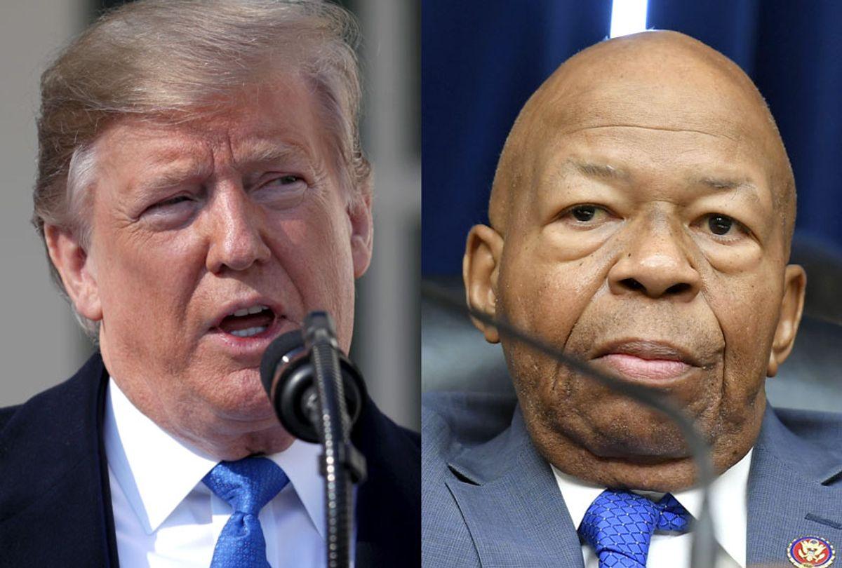 Donald Trump;  Elijah Cummings (Getty/Chip Somodevilla/Mandel Ngan)