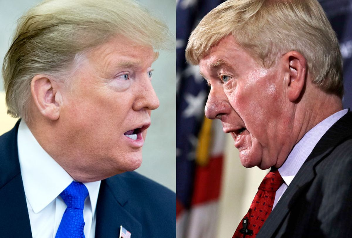 Donald Trump; William Weld (Getty/Michael Reynolds/AP/Charles Krupa)