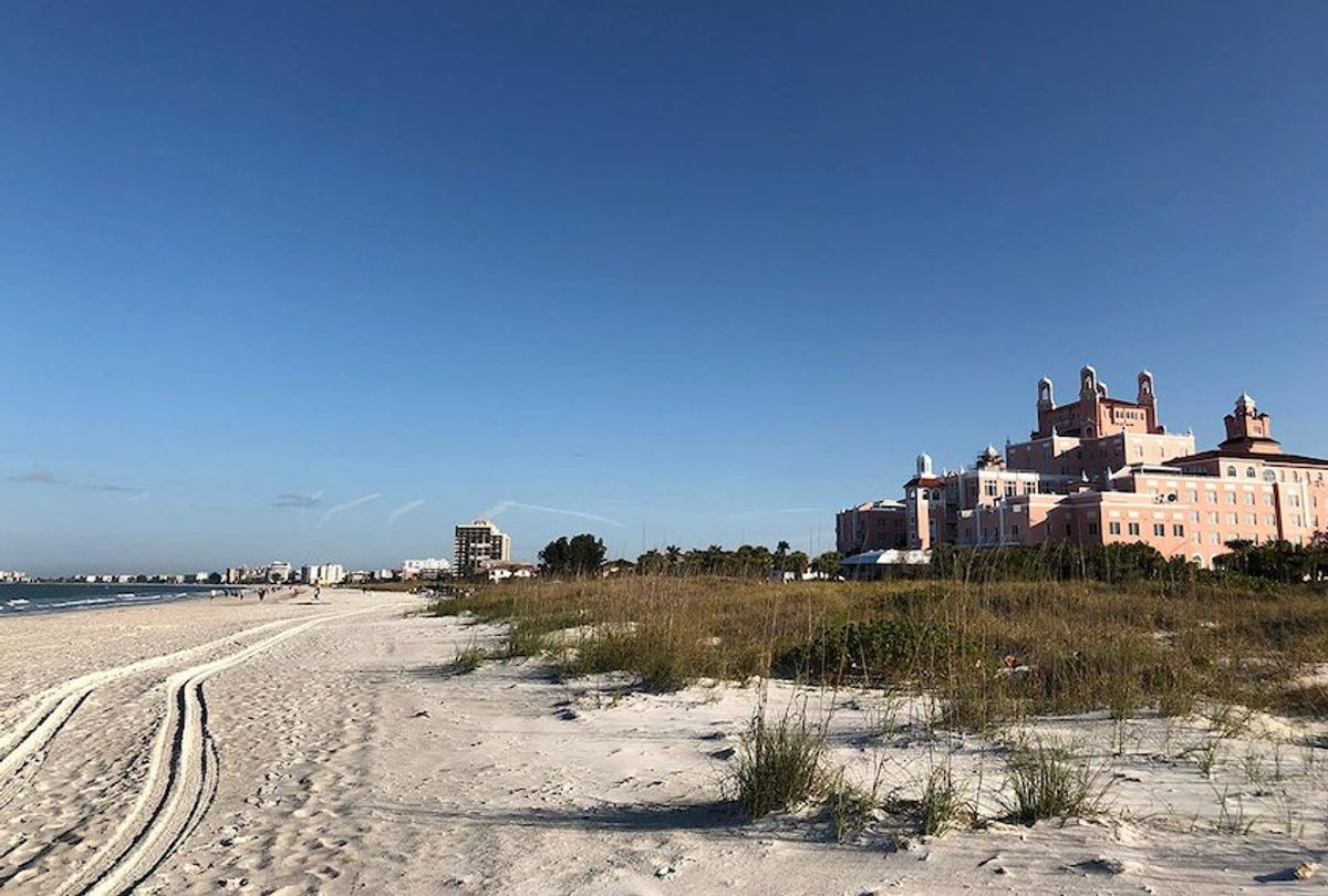 The Don CeSar Hotel on St. Pete Beach, Florida. (Elisabeth Robinson)