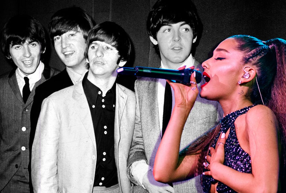 The Beatles; Ariana Grande (AP/Getty/Salon)