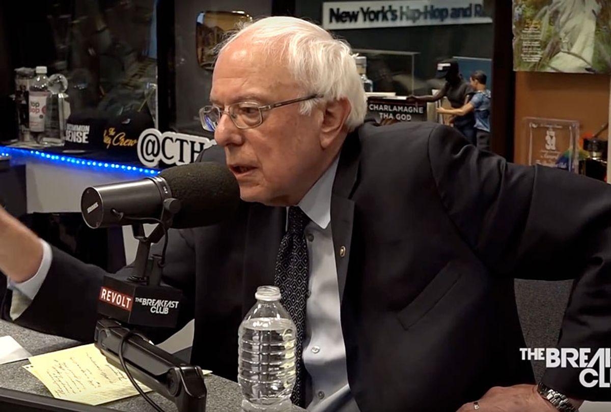 "Bernie Sanders on ""The Breakfast Club"" (The Breakfast Club)"