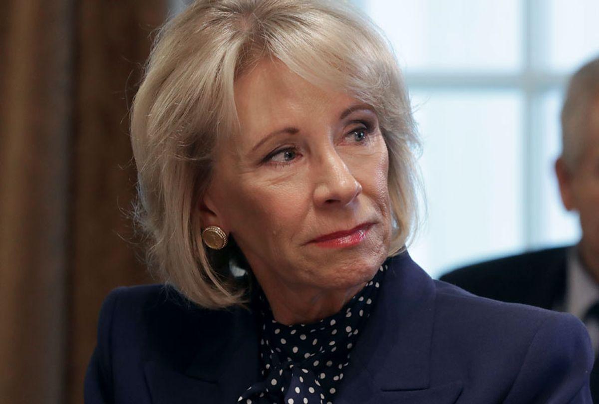 Education Secretary Betsy DeVos (Getty/Chip Somodevilla)