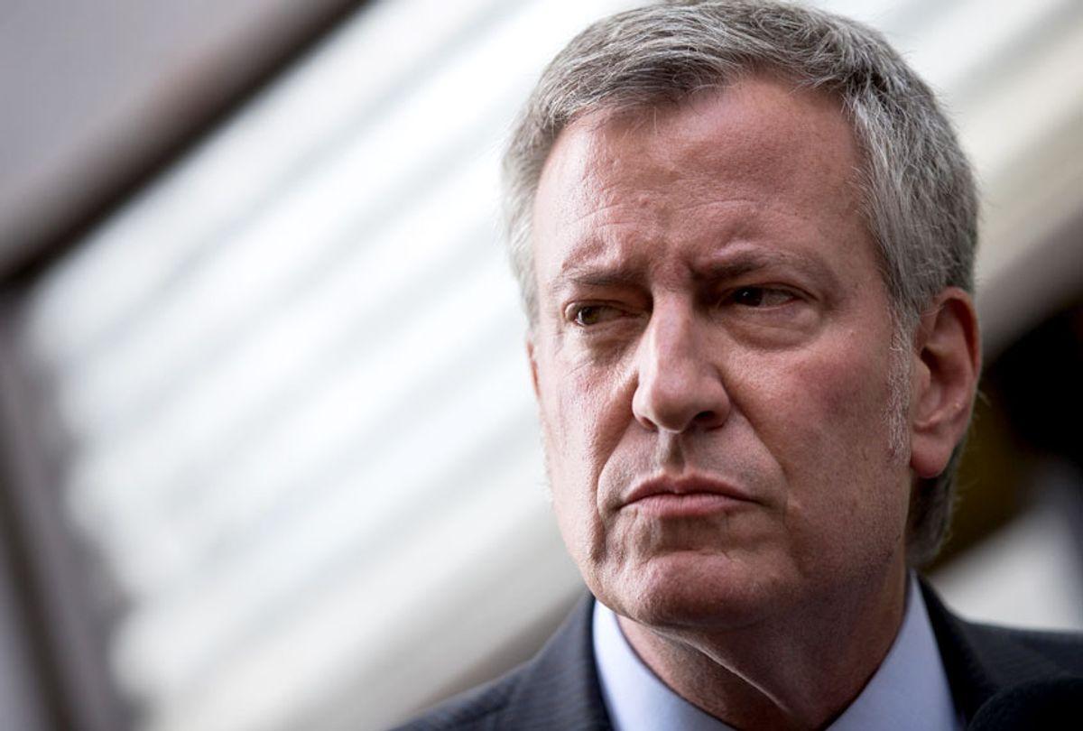 New York City Mayor Bill de Blasio (Getty/Drew Angerer)