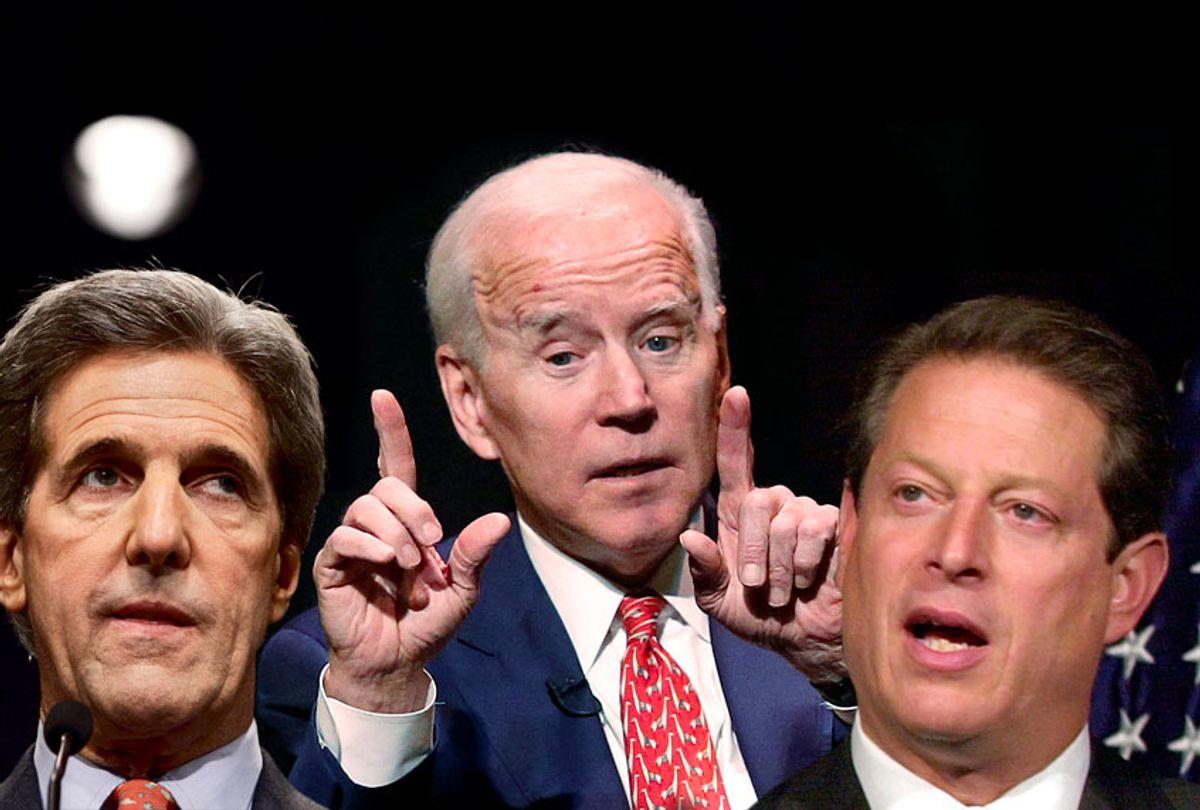 John Kerry; Joe Biden; Al Gore (AP/Getty/Salon)
