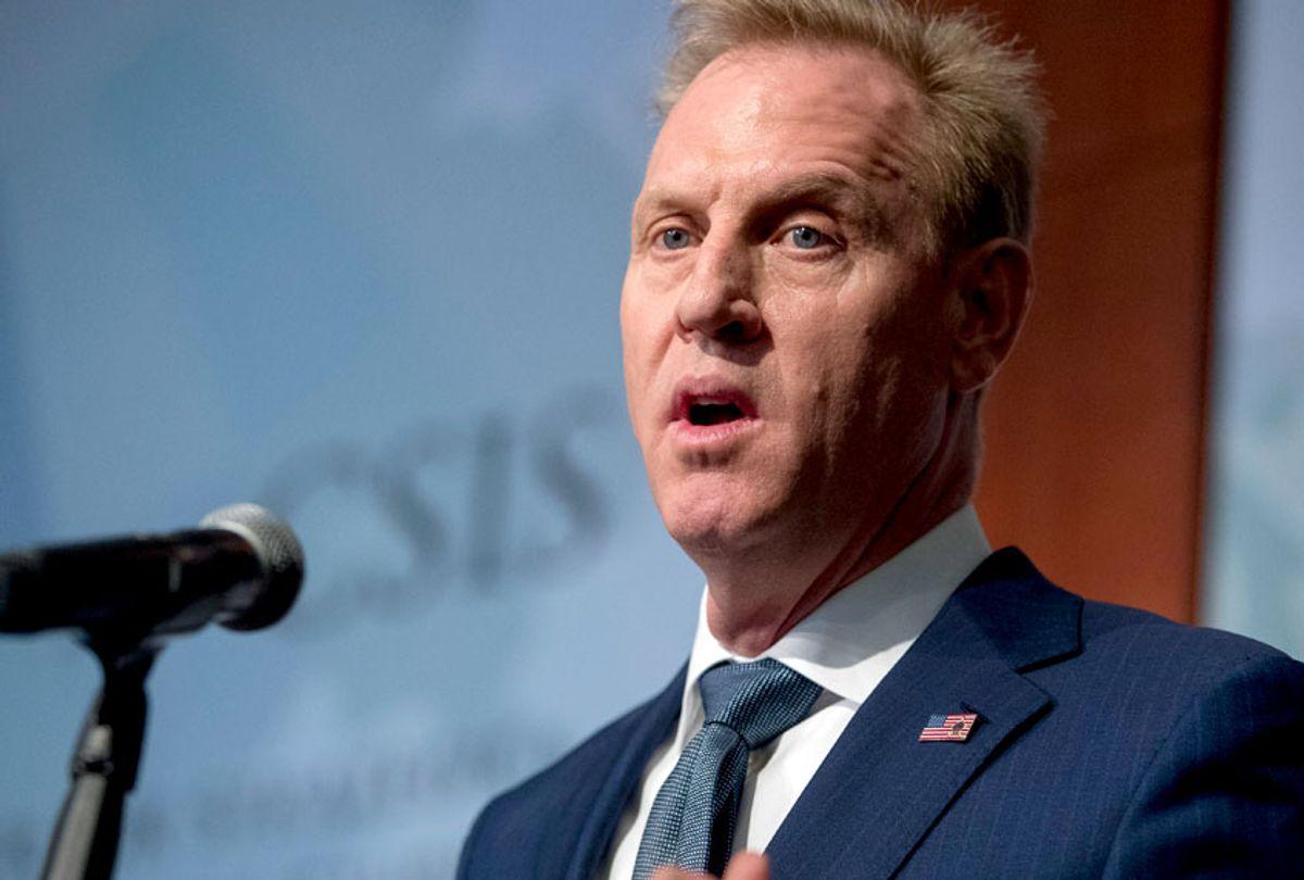 Acting Defense Secretary Patrick Shanahan (AP/Andrew Harnik)