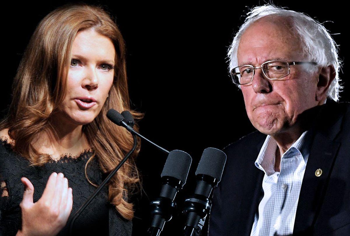 Trish Regan; Bernie Sanders (Getty/Salon)