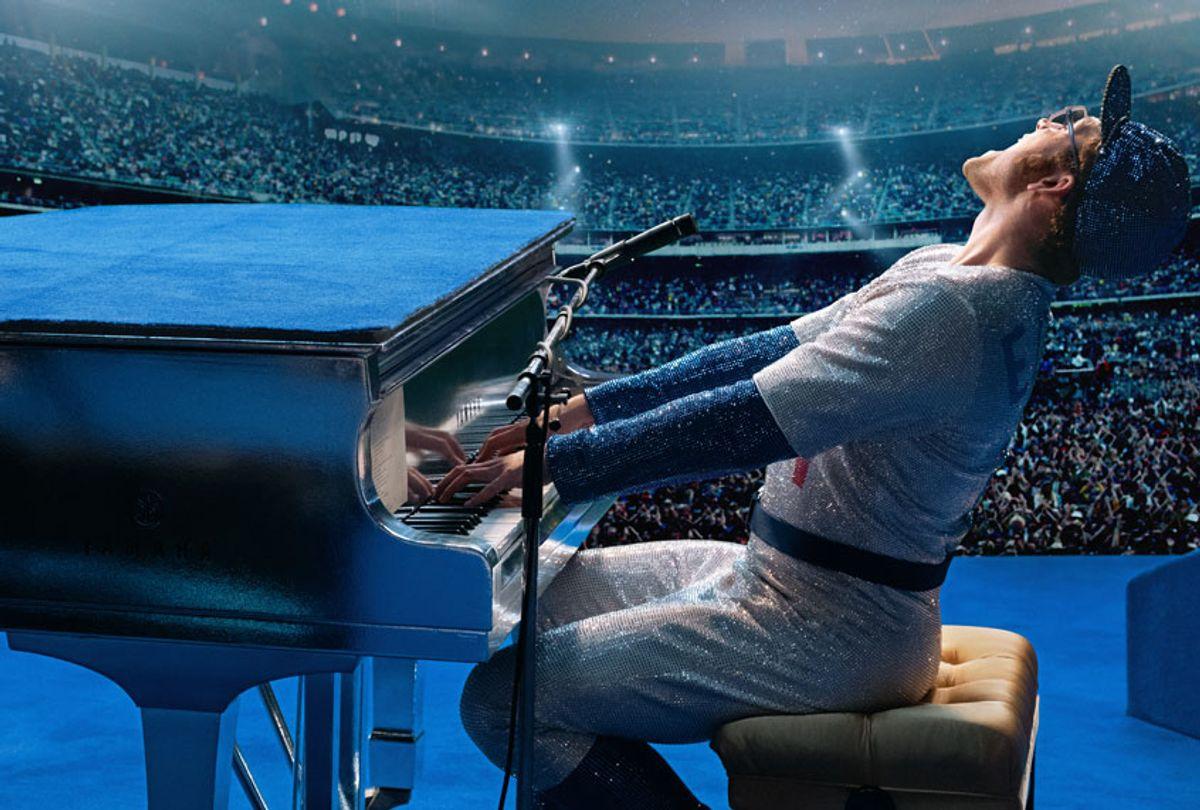 "Taron Egerton as Elton John in ""Rocketman"" (Paramount Pictures)"