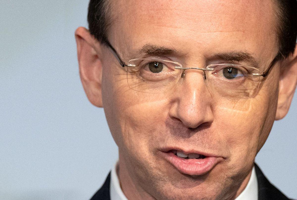 Deputy Attorney General Rod Rosenstein (Getty/Jim Watson)