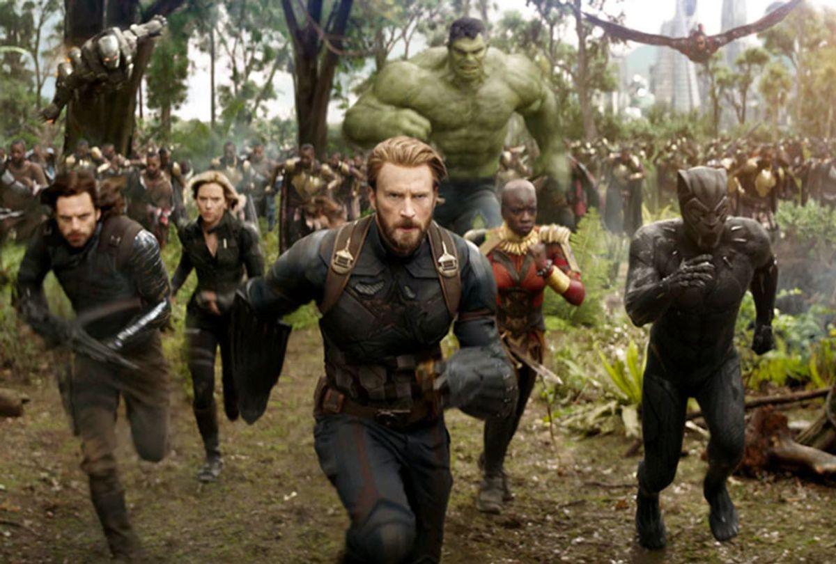 """Avengers: Infinity War"" (Marvel Studios)"