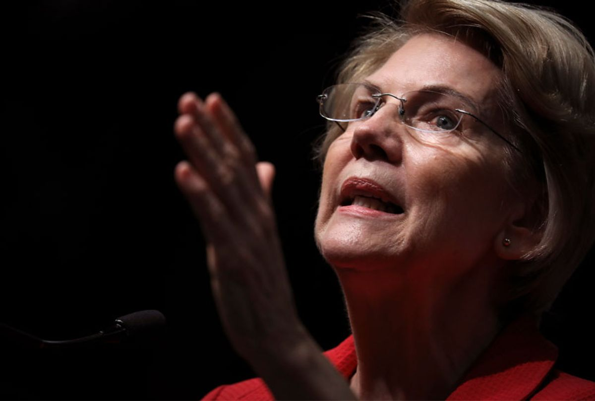 Sen. Elizabeth Warren (D-MA) (Getty/Drew Angerer)