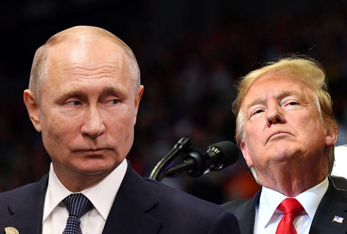 Vladimir Putin; Donald Trump (Getty/Salon)